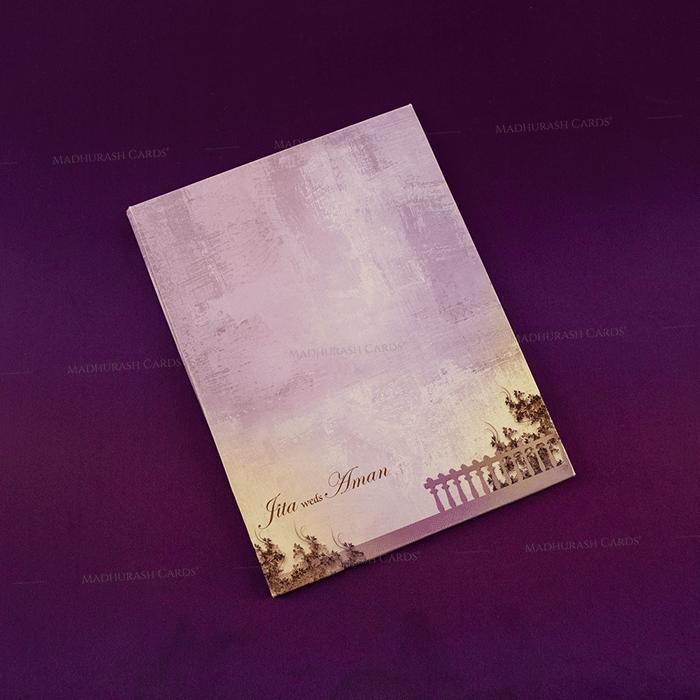 Designer Wedding Cards - DWC-18079 - 3