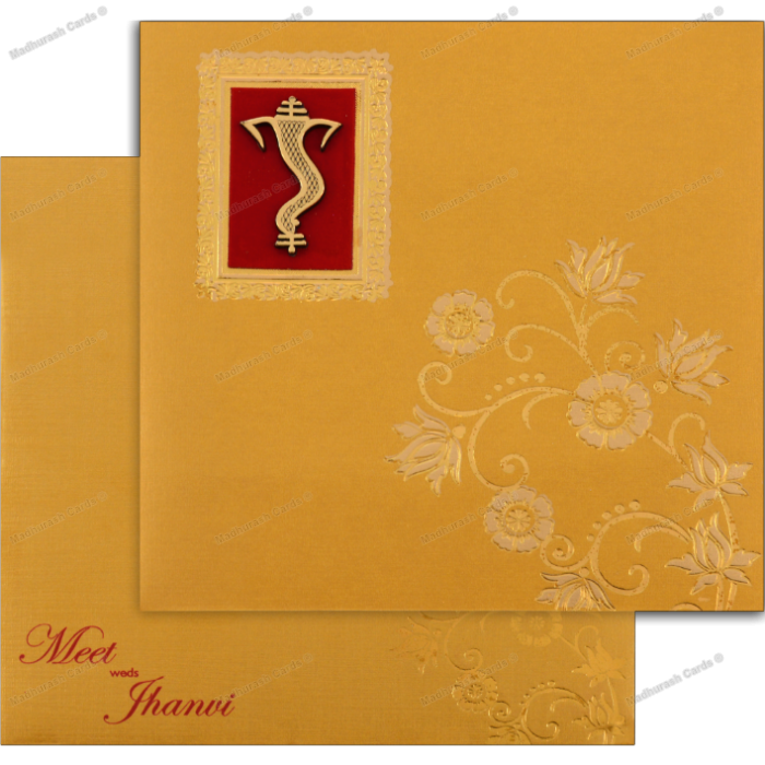 Hindu Wedding Cards - HWC-18130