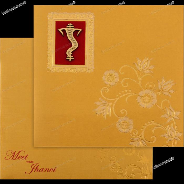 Hindu Wedding Cards - HWC-18130