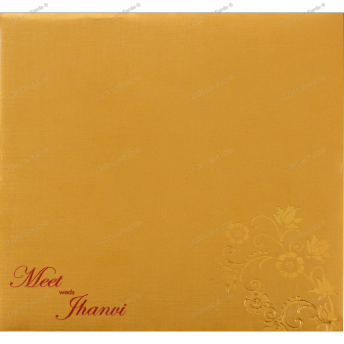 Shop Laser A Cheap Creative Hindu Wedding Cards Online