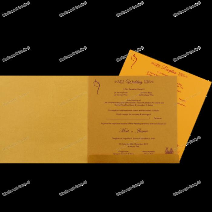 Hindu Wedding Cards - HWC-18130 - 4