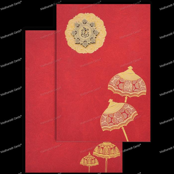 Hindu Wedding Cards - HWC-18201