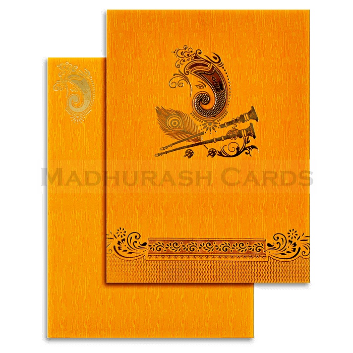 Hindu Wedding Cards - HWC-18224 - 2