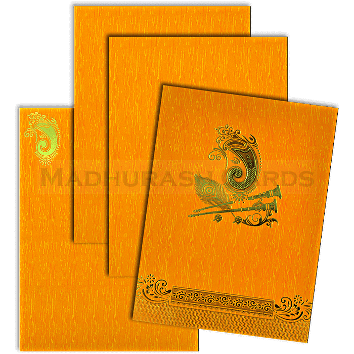 Hindu Wedding Cards - HWC-18224 - 4