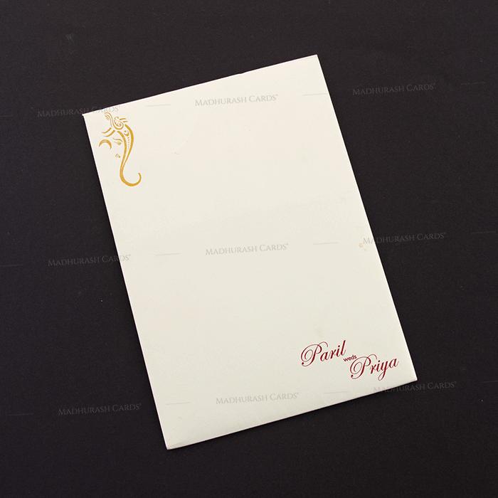 Hindu Wedding Cards - HWC-18256 - 3