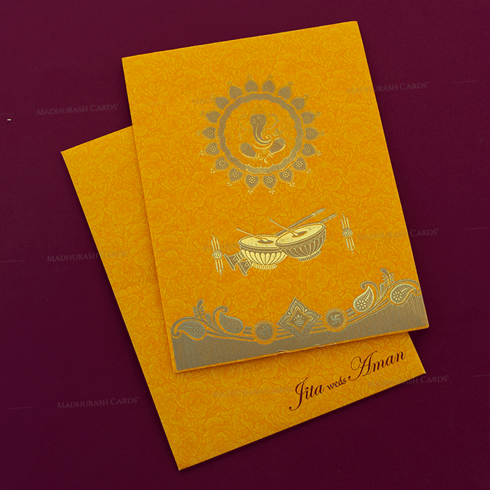 Hindu Wedding Cards - HWC-18259