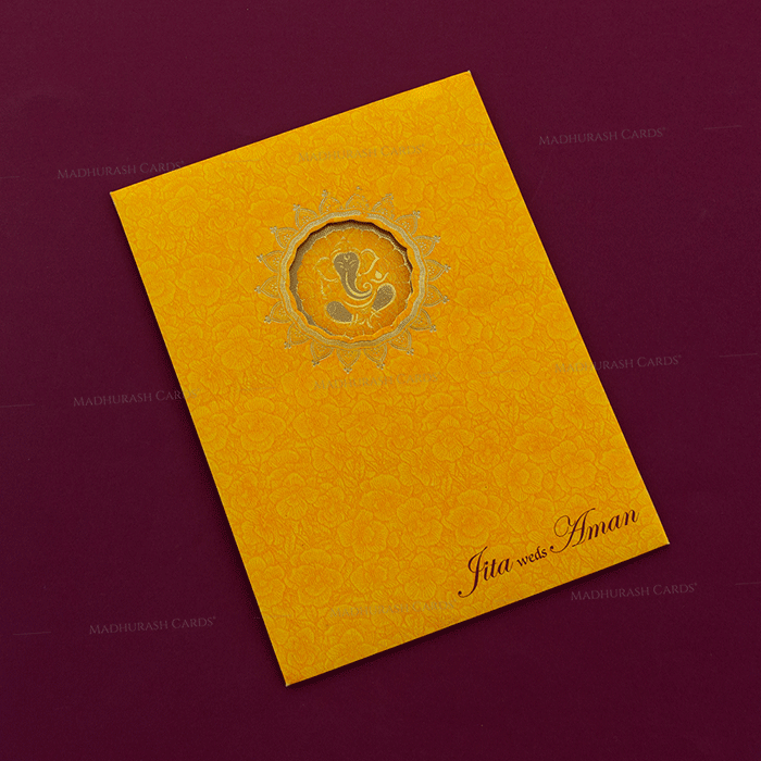 Hindu Wedding Cards - HWC-18259 - 3