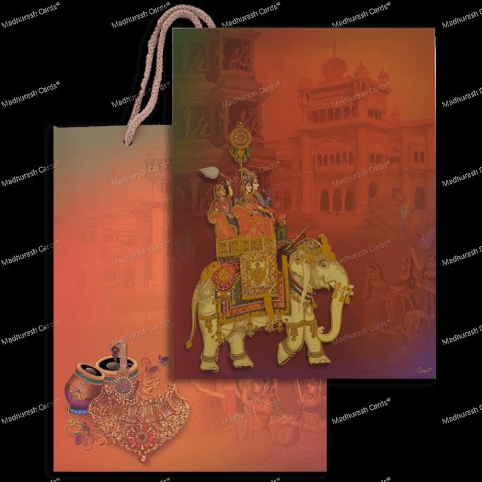 Hindu Wedding Cards - HWC-18029