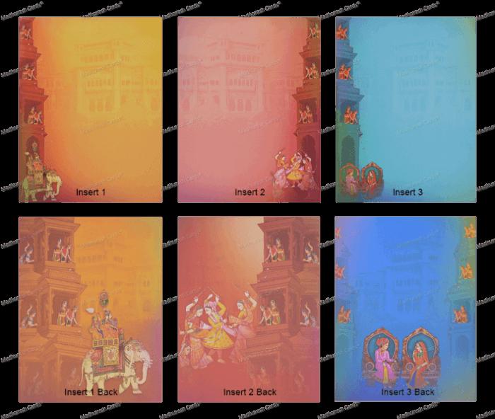 Hindu Wedding Cards - HWC-18029 - 4