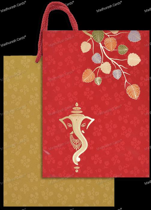 Hindu Wedding Cards - HWC-18045