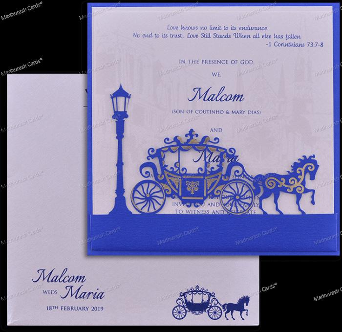 Muslim Wedding Cards - MWC-18054