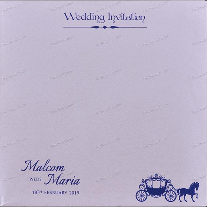 Muslim Wedding Cards - MWC-18054 - 3