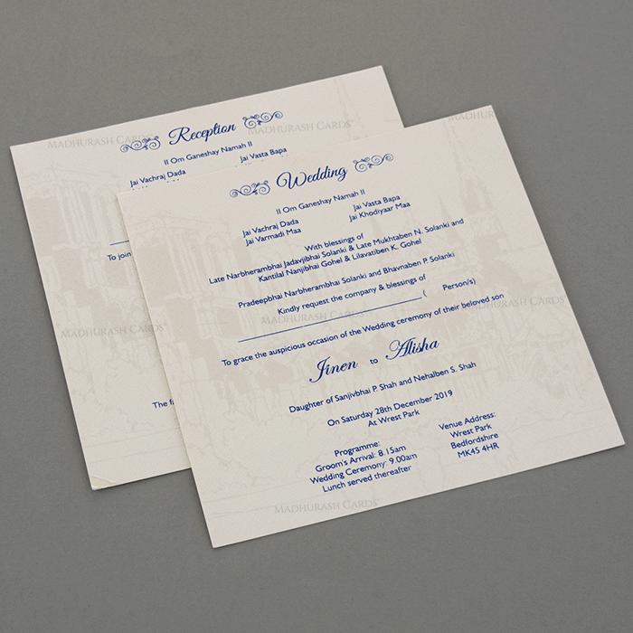 Sikh Wedding Cards - SWC-18054 - 4