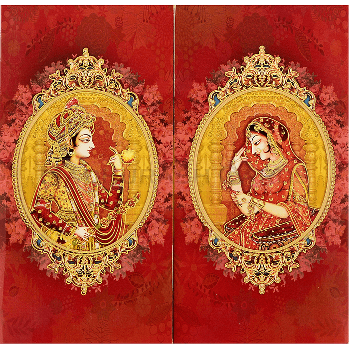 Hindu Wedding Cards - HWC-18104