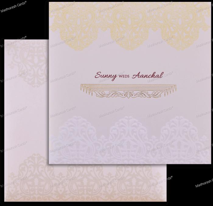 Muslim Wedding Cards - MWC-18179
