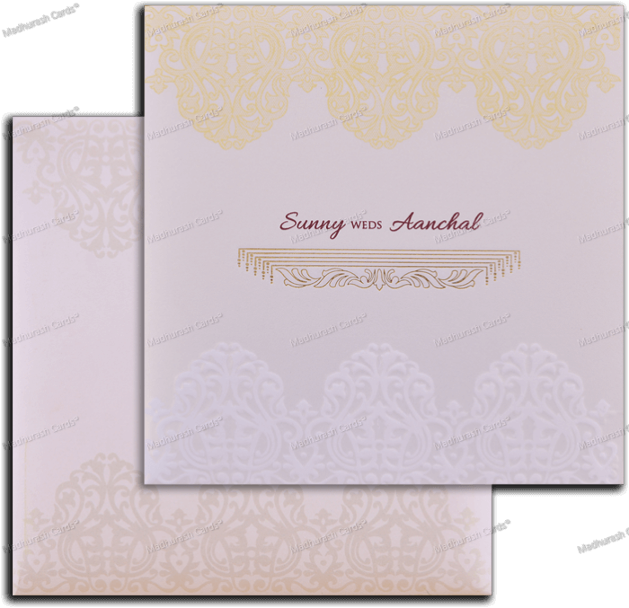 Hindu Wedding Cards - HWC-18179