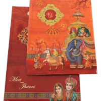 Hindu Wedding Cards - HWC-18203