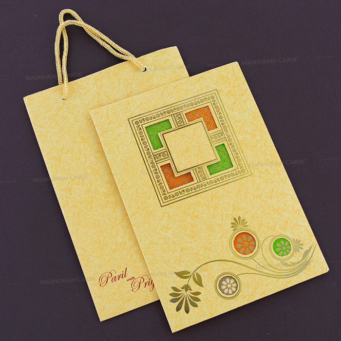 Hindu Wedding Cards - HWC-18134