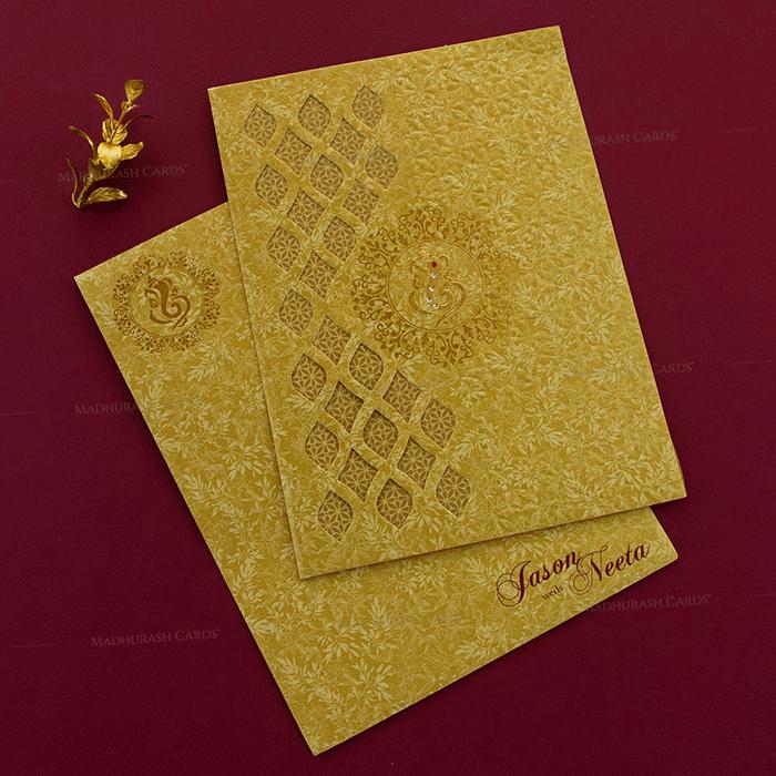 test Hindu Wedding Cards - HWC-18191
