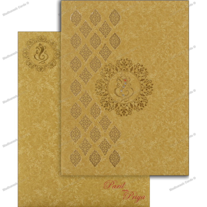Hindu Wedding Cards - HWC-18191 - 5