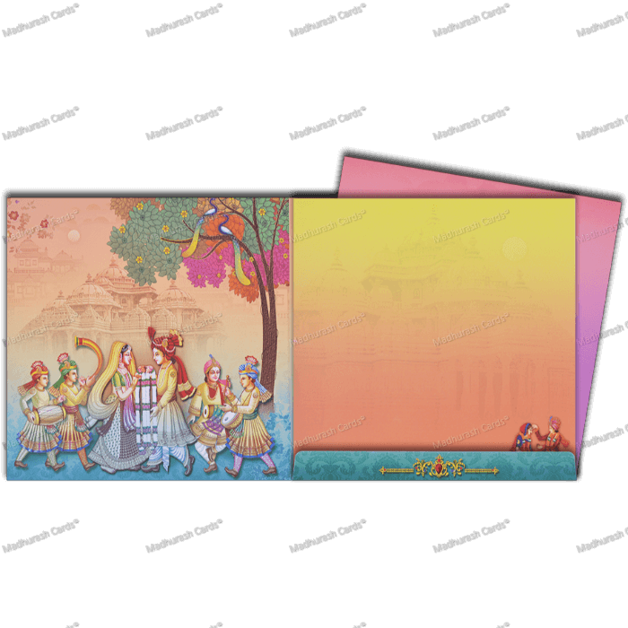 Hindu Wedding Cards - HWC-18101 - 4