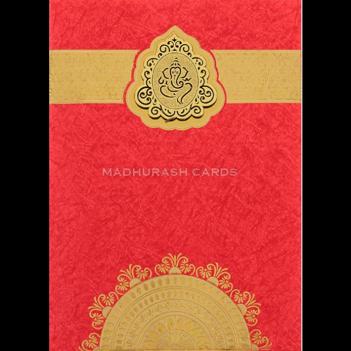 Hindu Wedding Cards - HWC-18195
