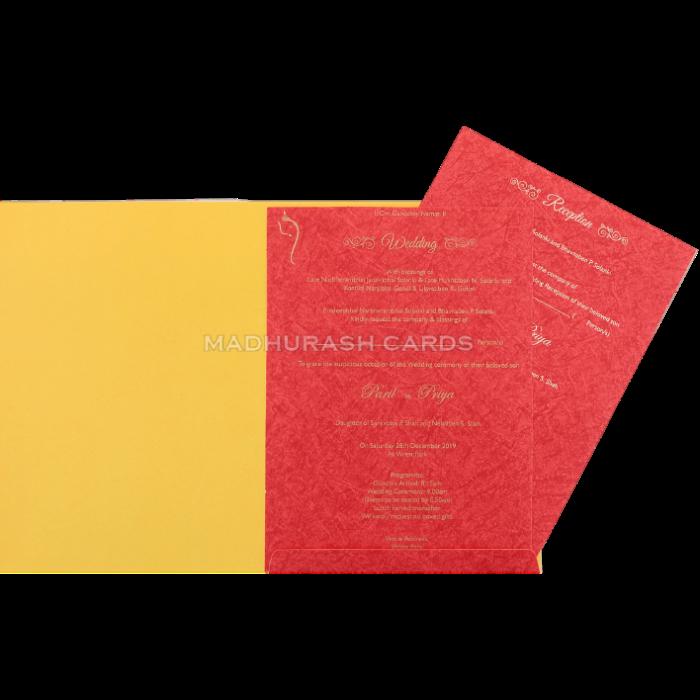 Hindu Wedding Cards - HWC-18195 - 4