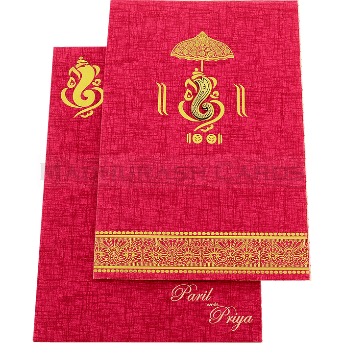 Hindu Wedding Cards - HWC-18197 - 3