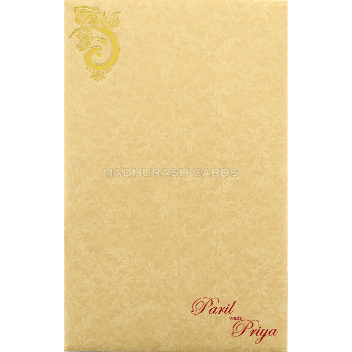 Hindu Wedding Cards - HWC-18205 - 3