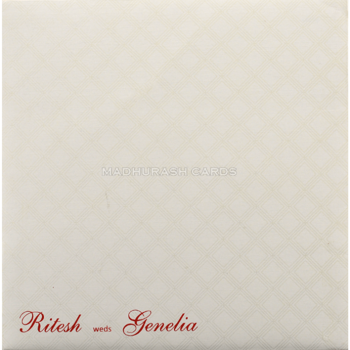 Hindu Wedding Cards - HWC-18216 - 3