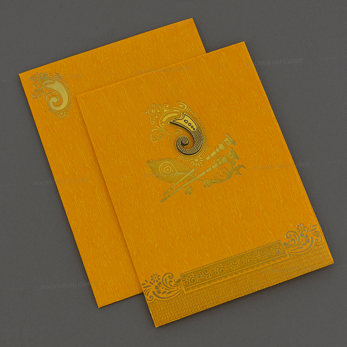 Hindu Wedding Cards - HWC-18244
