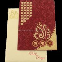 Hindu Wedding Cards - HWC-18246