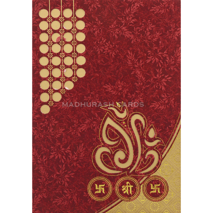 Hindu Wedding Cards - HWC-18246