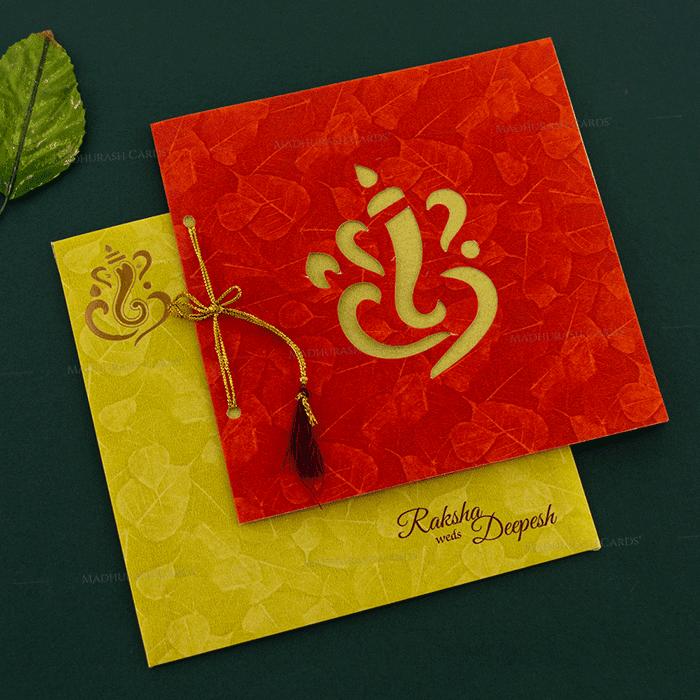Hindu Wedding Cards - HWC-18271