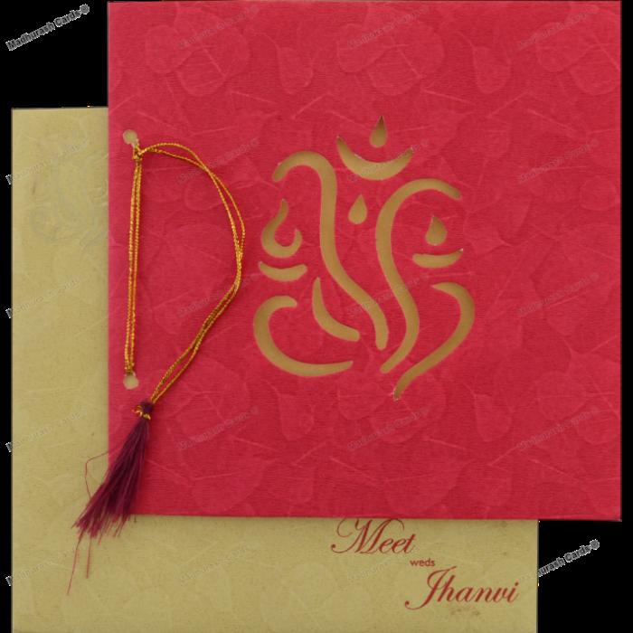 Hindu Wedding Cards - HWC-18271 - 5