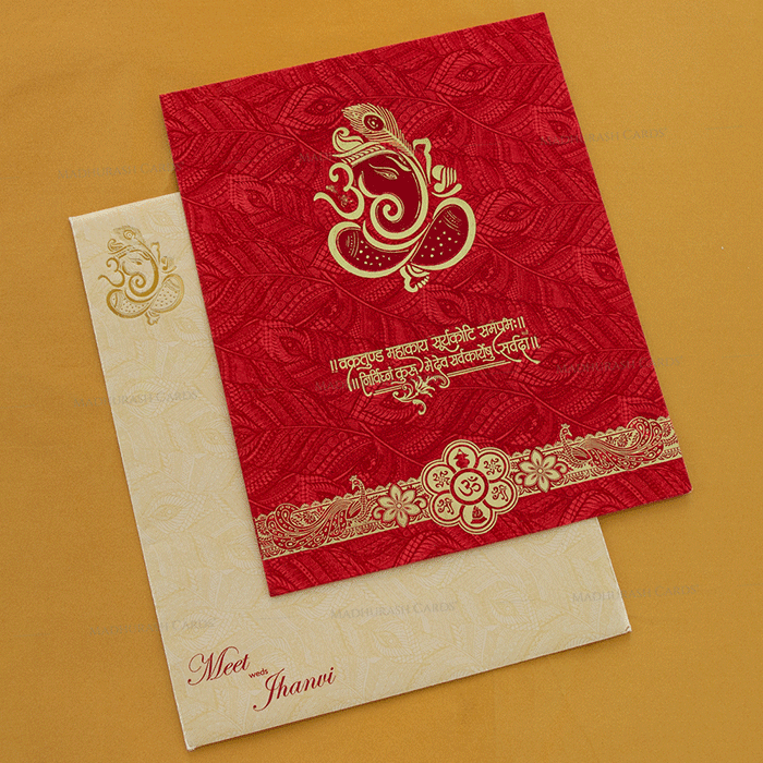 Hindu Wedding Cards - HWC-18293