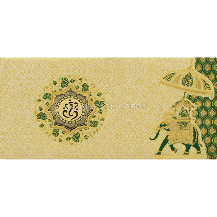 Hindu Wedding Cards - HWC-18106 - 2