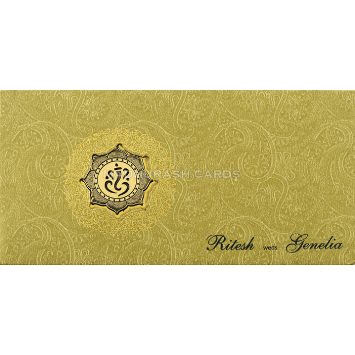 Hindu Wedding Cards - HWC-18106 - 3