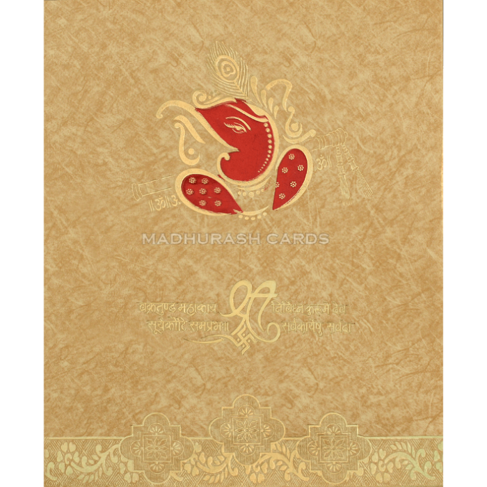 Hindu Wedding Cards - HWC-18275