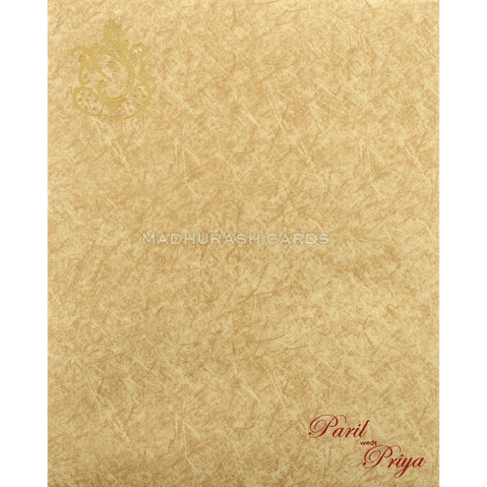 Hindu Wedding Cards - HWC-18275 - 3