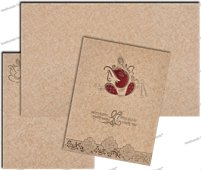 Hindu Wedding Cards - HWC-18275 - 5