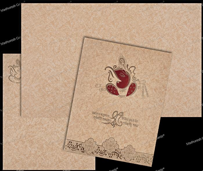 Hindu Wedding Cards - HWC-18275 - 5