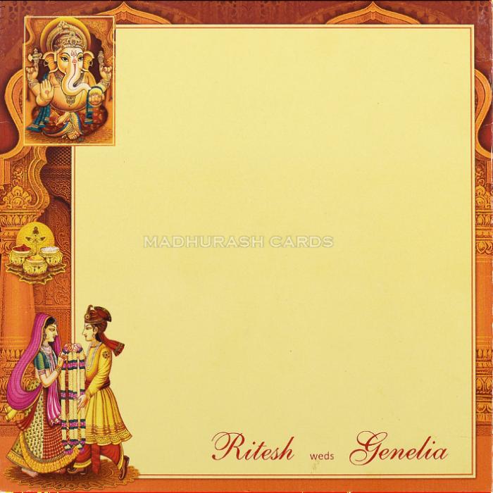 Designer Wedding Cards - DWC-18128 - 3