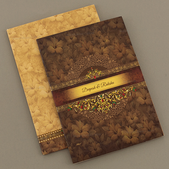 Hindu Wedding Cards - HWC-18039