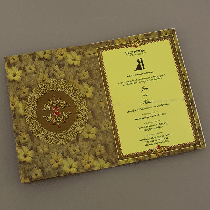 Hindu Wedding Cards - HWC-18039 - 5