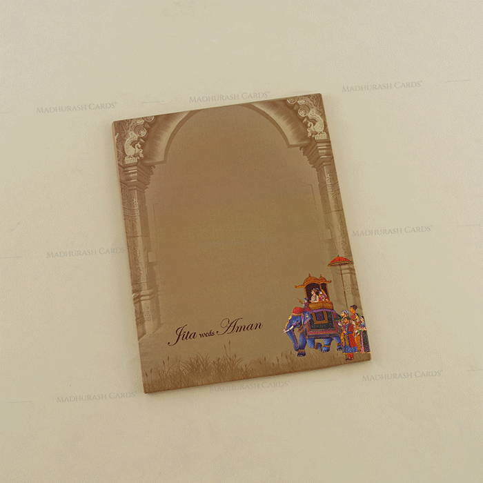 Hindu Wedding Cards - HWC-18060 - 3