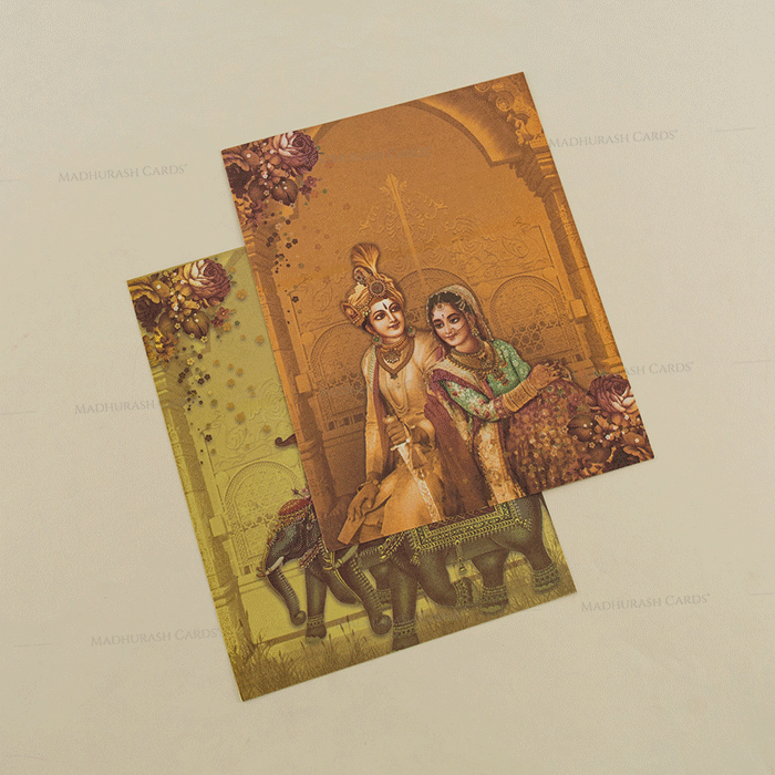 Hindu Wedding Cards - HWC-18060 - 5