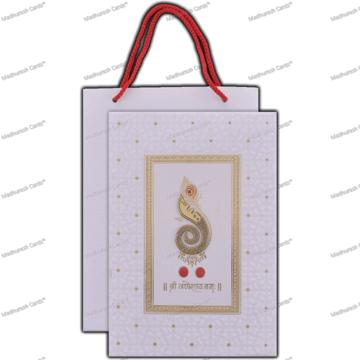 Hindu Wedding Cards - HWC-18066