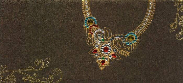 Sikh Wedding Cards - SWC-4044