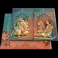 Hindu Wedding Cards - HWC-18084